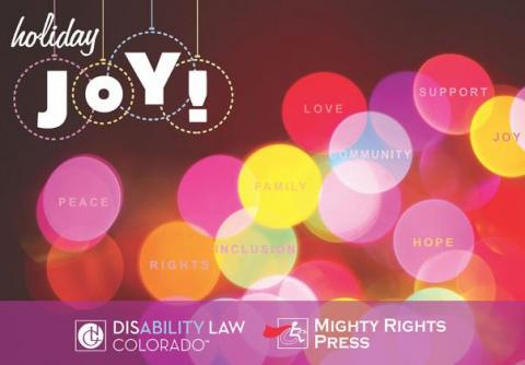 Happy Holidays from Disability Law Colorado