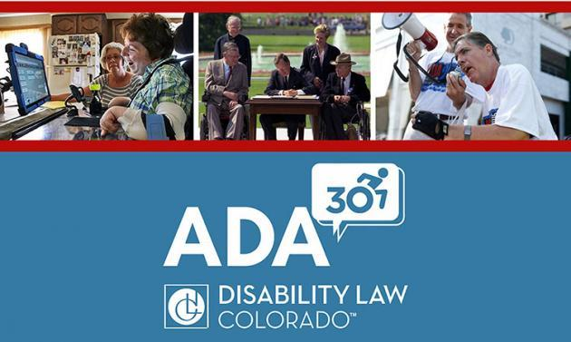 picture of 1990 signing of the ADA along with disability rights advocates