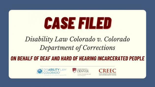 picture of a case filed tile - DLC v. CDOC