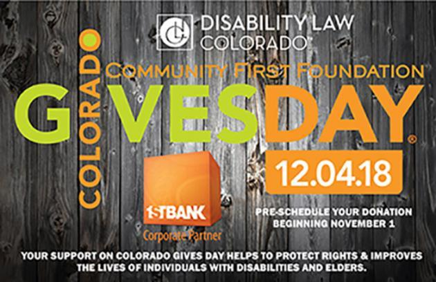 Colorado Gives Day - All Day on December 4