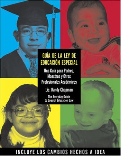 Guia de la Ley de Educacion Especial- SOLD OUT!