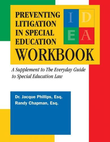 Preventing Litigation in Special Education Workbook